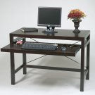 ESPRESSO WOOD COMPUTER WRITING DESK