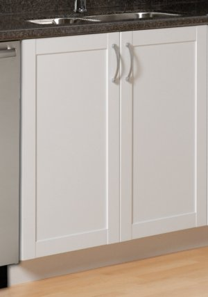 36 INCH DOUBLE  DOOR KITCHEN BOTTOM CABINET SHAKER COLLECTION  B-3636-F