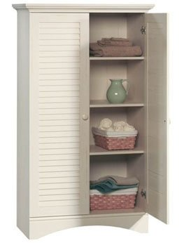 35 IN WIDE X 61 IN HIGH PANTRY/STORAGE CABINET WHITE