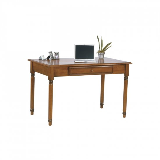 CHERRY STAIN SOLID WOOD COMPUTER/WRITING DESK