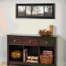 LIVING ROOM CONSOLE COUCH TABLE ESPRESSO COLOR