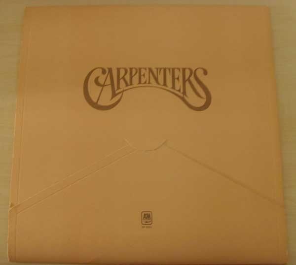 Carpenters Original LP (A&M) SP 3502