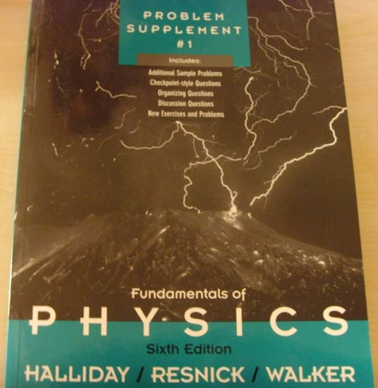 Fundamentals of Physics by Halliday/Resnick/Walker
