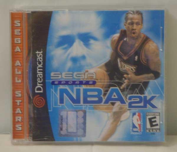Sega Sports NBA 2K (Sega Dreamcast)
