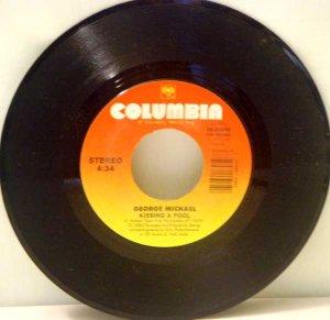 George Michael:  Kissing a Fool (45)
