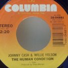 Johnny Cash, Willie Nelson, Waylon Jennings, Kris Kristofferson (Columbia Records, 45 RPM)