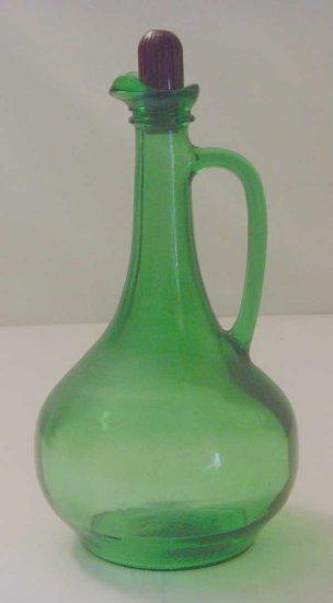 Green World 1976 Liquor Wine Bottle