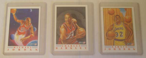 91 Fleer Basketball Cards