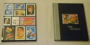 1999 and 2001 Commemorative Stamp Yearbooks