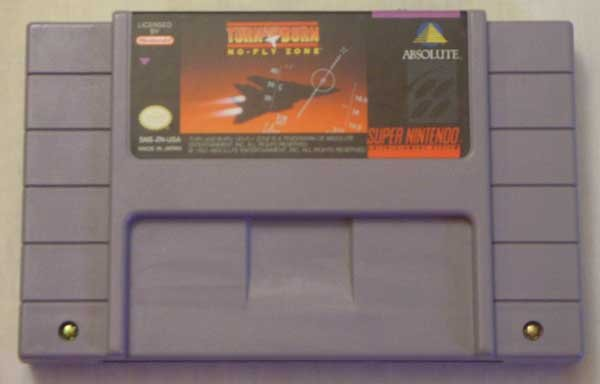 Turn and Burn:  No-Fly Zone (SNES)
