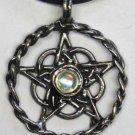 Celtic Pentagram With Crystal