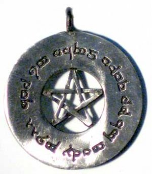 Elfin Protection Spell Amulet