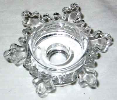 Snowflake Chime Candle Holder