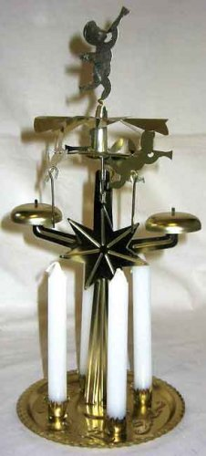Yule Chimes Candle Holder