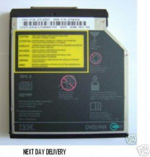 IBM ThinkPAD DVD WRITER FOR T23 T30 R31 R32 T22 (£39.99 only including delivery)