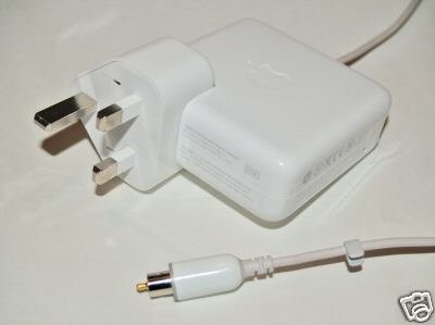 GENUINE APPLE  45W POWER ADAPTER  FOR PowerBook G4 , iBook G3 & G4 ( £28 only including delivery)