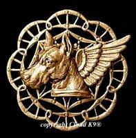 Great Dane Guardian Angel Dog Pin