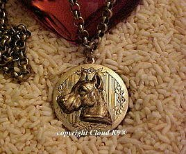 Great Dane Photo Locket Necklace ...Jewelry for Dog Lovers