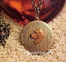 Golden Retriever Photo Locket Necklace Chesapeake Bay Retriever ...Jewelry for Dog Lovers
