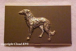 Borzoi / Russian Wolfhound Business Card Case
