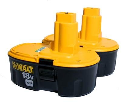 DC9096 Dewalt 18v XRP Batteries (2) Brand New