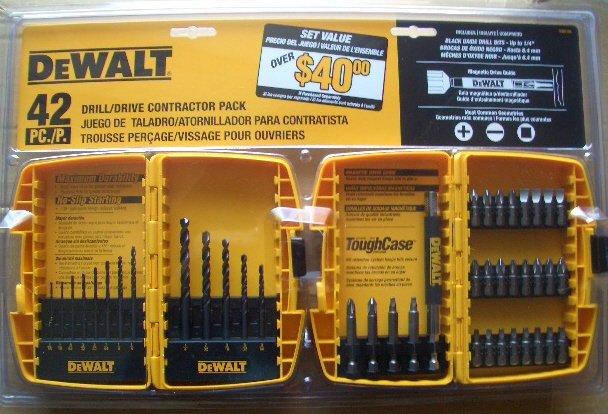 DW2158 Dewalt Drill Bit / Driver Bit 42 pc. Contractor Pack