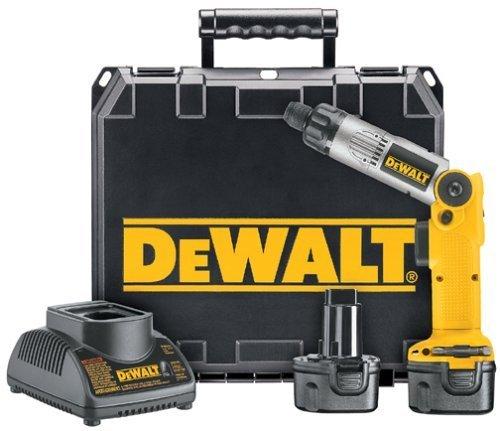 """DW920K-2 Dewalt 1/4"""" (6mm) 7.2V Cordless Two-Position Screwdriver Kit -"""