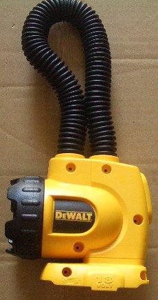 DW919 Dewalt 18v Cordless Snakelight Flashlight  NANO Lithium-ion Design