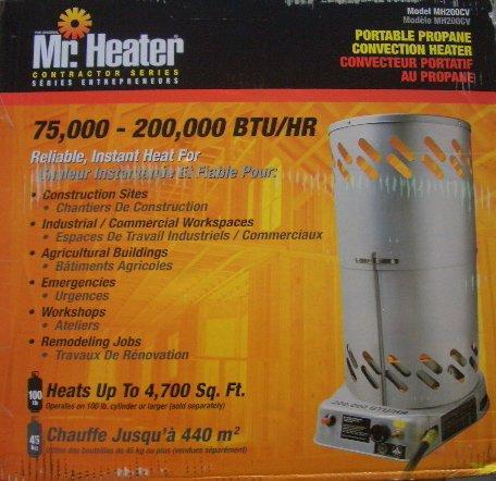 Mr. Heater MH200CV - Convection Heater