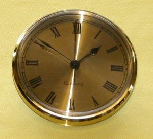 "3-5/16""  Beveled Bezel Fitup - Gold Roman Dial"
