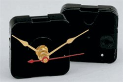 (10) Regular Stepping Clock Movements (Long Shaft)  w/Choice Of Hands