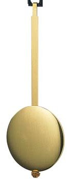 "(5) 16"" Breakaway Pendulum Brass Rods"