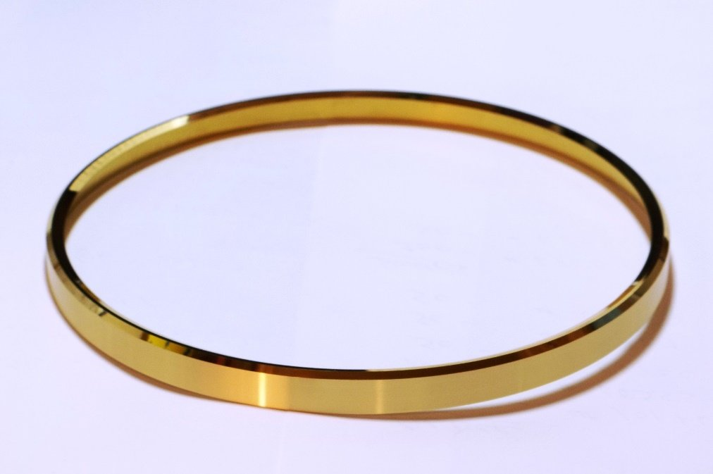 "2-1/2"" Solid Brass Clock Bezel"