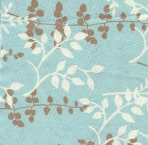 Trendy light blue and brown Hootie