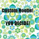 The Hootie: Custom made nursing covers. Made to your specifications!