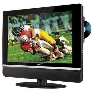 "Coby Black 19"" Widescreen TFT LCD Digital TV/DVD Combo"