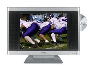 "Toshiba 15DLV16 15"" LCD w/ Built in DVD player"