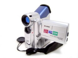 DV8500 Digital Video Recording Camera 4.1 MegaPixels 64MB External Memory