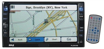 Pyle PLDNV66 6.5'' Double Din Motorized Touch Screen , CD/DVD/MP3/MMC Reader & GPS Mapping SoftwaRE