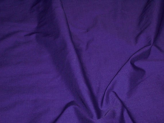 Purple Poly Cotton Broadcloth