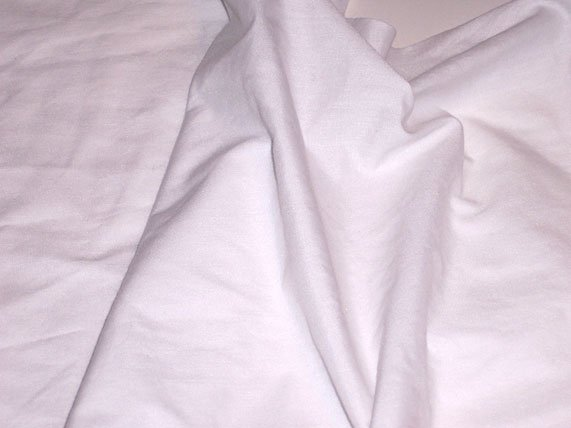 White Poly Cotton Broadcloth