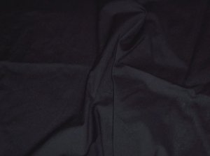 Black Poly Cotton Broadcloth