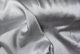 Silver Silky Soft Charmeuse Satin