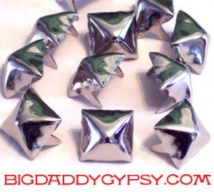 Pyramid Studs Half Inch 100 Count