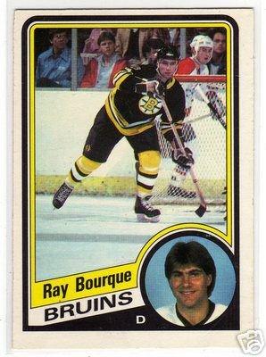 Ray Bourque 1984/1985 O-Pee-Chee NHL Hockey Card #1, VERY NICE!