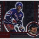 1997/1998 Donruss Line 2 Line NHL Hockey Insert Card, Mark Messier #549 of 4000, NM