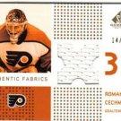 Roman Cechmanek 2003/2004 SP NHL Hockey Game Used Authentic Fabrics #14/99