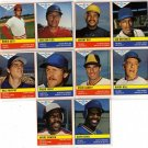1985 General Mills MLB 5 Baseball Sticker Lot, Carlton Fisk, Steve Garvey, Andre Dawson