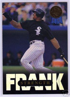 Frank Thomas 1993 Leaf MLB Baseball Insert Card #8 of 10 NICE!