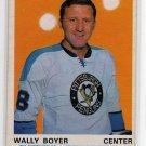1970/1971 OPC NHL Hockey Card #203 Wally Boyer, Mid Grade OPC Card